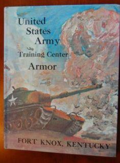 1967 Fort Knox US Army Armor 4th Brigade 17th BTLN Co E