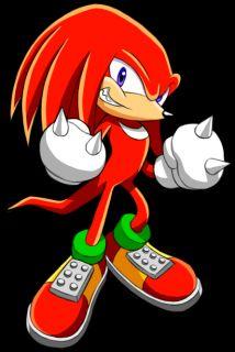 Sonic The Hedgehog Sega Knuckles Funko Wacky Wobbler Nodder Bobblehead