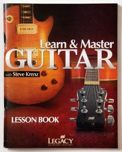 LEARN & MASTER GUITAR with Steve Krenz DVD/CD Legacy Learning Systems