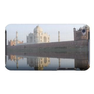 Reflection of a mausoleum in water, Taj Mahal, Agr iPod Touch Case