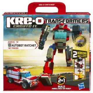 Kre O Transformers Autobot Ratchet Construction Set