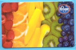 Kroger Fresh Fruit 2012 Gift Card