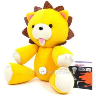 Bleach Kon 10 Squeaky Plush Doll Figure Toy Yellow Lion Official