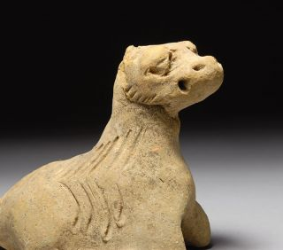 Ancient Chinese Tang Yuan Dynasty Zodiac Animal Ox Cow Figure 1300 A D