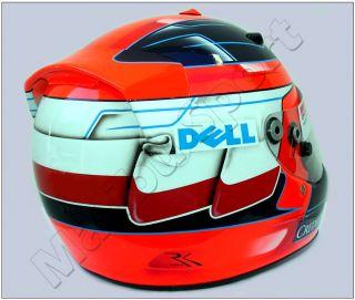 Robert Kubica F1 Sauber 2008 Replica Helmet Scale 1 1