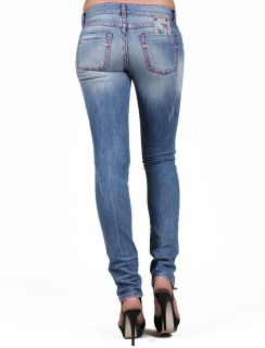 TAKESHY Kurosawa Dnlav Star Blitz D1076 Straight Blue Woman Jeans