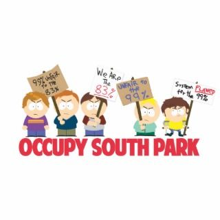Occupy South Park Cut Outs