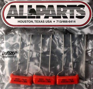 CONDENSAT SPRAGUE USA ORANGE DROP Capacitor 47nF .047uF 200v set 3x