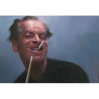 Sebastian Kruger Jimi Hendrix Giclee Canvas