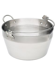 Kitchen Craft Professional Stainless Steel Maslin Pan