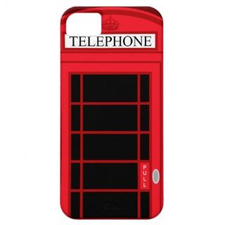 Classic Red Public Telephone Box UK iPhone 3G/3GS Tough iPhone 3