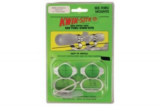 Kwik Site See thru Mounts Ruger 10 22 SS Riflescope Mounts and Bases