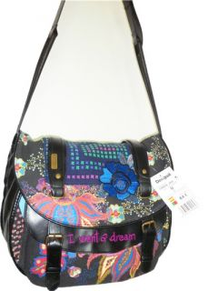 New 2012 Desigual Womens Handbag Messenger Shoulder Bag