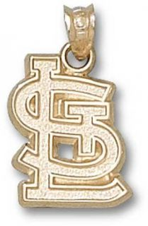 Saint Louis Cardinals Logo Charm 14k Yellow Gold