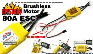 80A Brushless Motor Speed Controller RC ESC Parts