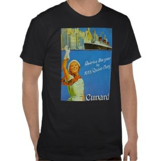America this Year by RMS Queen Mary Shirt