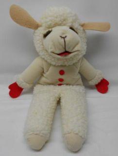 Lamb Chop Shari Lewis Hand Puppe 16 Plush 1992