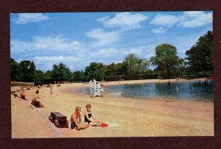 NH Silver Lake State Park Hollis New Hampshire Postcard