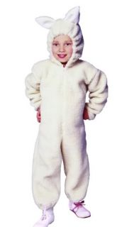 Ba Ba Lamb Sheep Child Costume Farm Zoo Animal Kids Jumpsuit Costumes