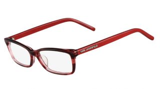 Karl Lagerfeld Eyeglasses KL775 133 Red Striped 53mm