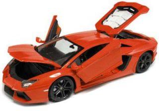 Lamborghini Aventador LP700 4 1 18 Scale Bburago Diecast Model Car Red