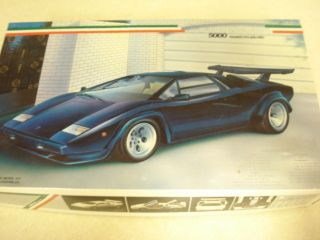 FUJIMI* **LAMBORGHINI COUNTACH 5000** **1/24TH SCALE MODEL CAR KIT