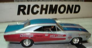 Dick Landy 1969 Dodge Charger Custom Built 1 32 Slot Car NHRA Drag Car