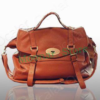 Ladies Womens Designer Faux Leather Satchel Office Laptop Bag