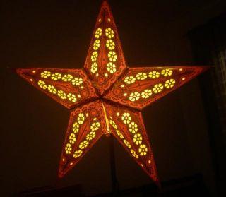 24 60cm Purple Star Paper Lantern Wedding Party Decor