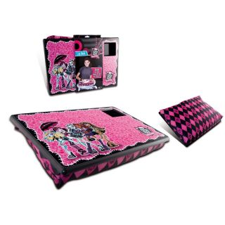 Monster High Portable Cushion Lap Desk Laptop Notebook Tray Board