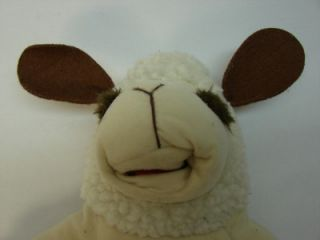 Lamb Chops Hand Puppet Shari Lewis 16 Plush 1992