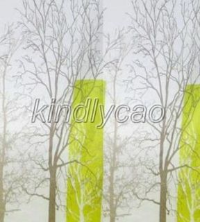 Landscape Tree Beautiful Design Bathroom Fabric Shower Curtain KS162