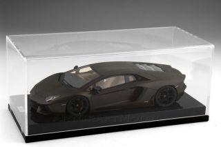 01 of 20 Lamborghini Aventador 2011 APUS Maroon w Carbon Display 1 18