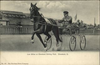 Horse Harness Racing Lou Dillon at Cleveland Oh Driving Park Great