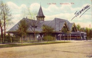 Lake Park Trolley Terminal Milwaukee Wi