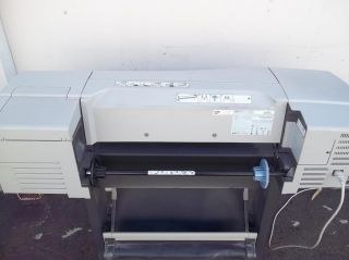 HP DesignJet 500 Wide 24 inch Large Format Printer Color Inkjet