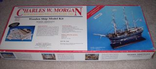 Charles w Morgan Model Shipways Whaling Bark 1841 Wood Model SHIP Kit