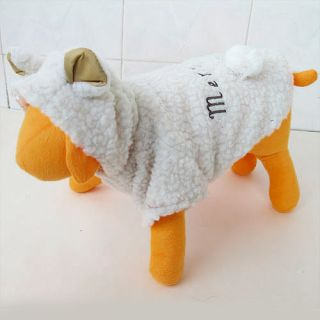 Little Lamb Costume Pet Dog Clothes Apparel Chihuahua