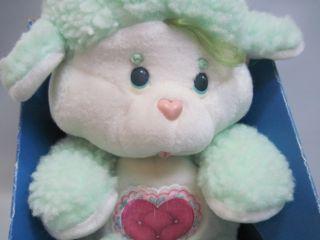 Vtg Pat Pend 1985 Gentle Heart Lamb 13 Care Bear Cousins Plush
