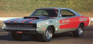Dick Landy 70s Era Dodges NHRA Drag Decals 1306
