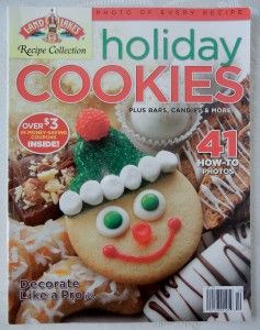 Holiday Cookies Magazine Land O Lakes Special 2008 Recipes Tips