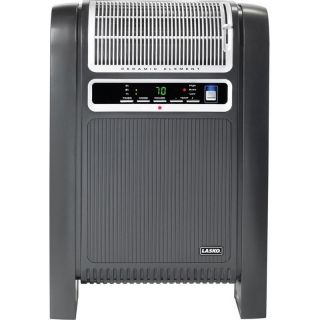 Lasko Cyclonic Ceramic Portable Heater, Compact Space Heat w/ Remote