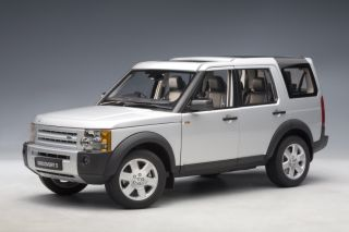 Autoart 1 18 Land Rover Discovery 3 2005 Silver 74801