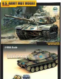 48 M60A1 U.S. Army MBT motorized tank New Academy TA079 US Army M