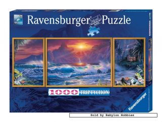 Jigsaw Puzzle 1000 Pcs Christian Riese Lassen Panoramic Beach