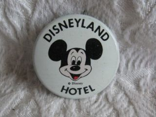 Disneyland Hotel Mickey Mouse Hat Lapel Pin Button