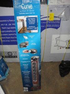 Lasko Wind Curve 42 in Oscillating Tower Fan Fresh Air Ionizer