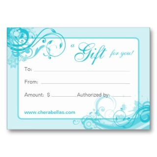 Gift Card Template | New Calendar Template Site