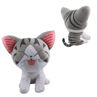 Cute 30cm Chis Sweet Home Cat Soft Plush Doll Toy Big Laugh
