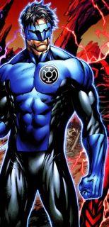 DC Universe Blue Kyle Rayner Green Lantern